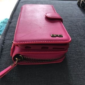 iPhone 7 Plus Magnetic Wallet Case